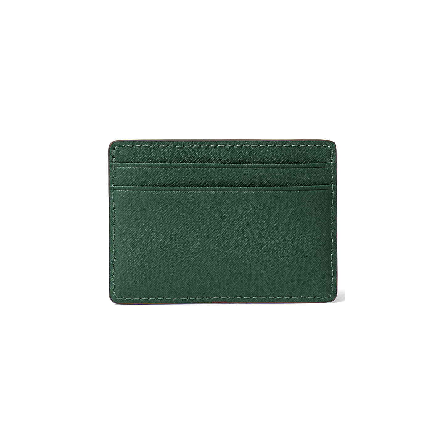 BuyMICHAEL Michael Kors Jet Set Travel Leather Card Holder, Moss Online at johnlewis.com