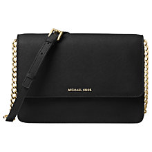 Buy MICHAEL Michael Kors Daniela Large Leather Across Body Bag Online at johnlewis.com