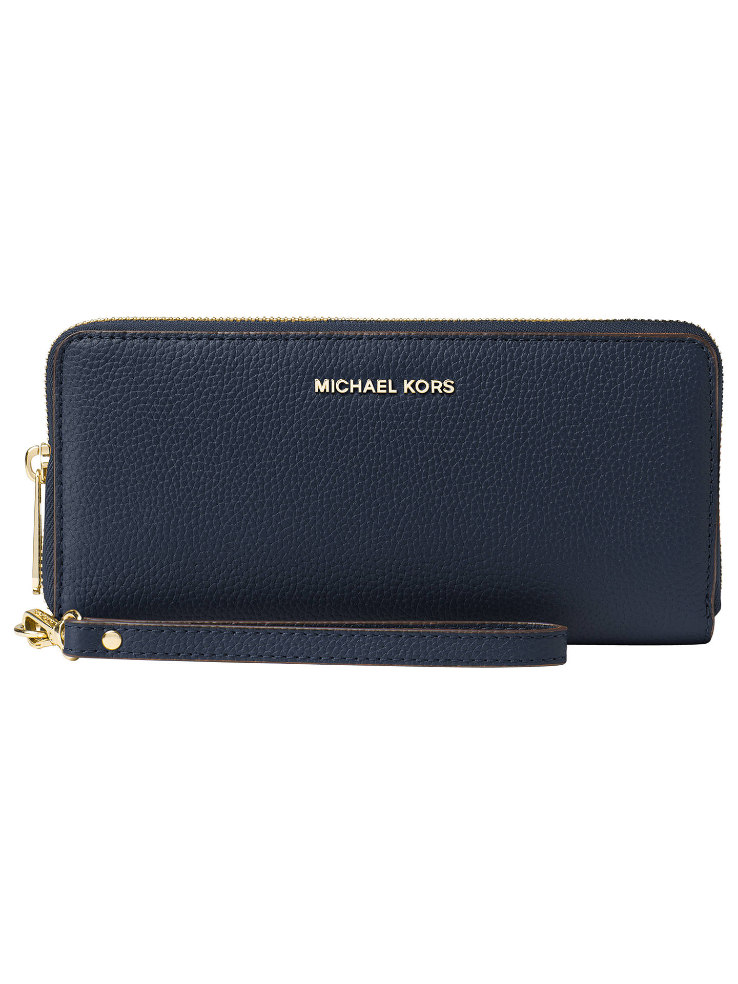 93f8fe8364a5c MICHAEL Michael Kors Mercer Travel Continental Leather Purse at John ...