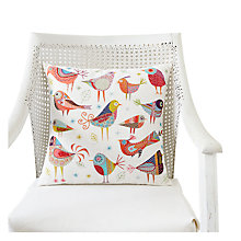 Buy Nancy Nicholson Bird Dance Embroidery Cushion Kit Online at johnlewis.com