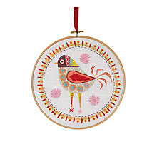 Buy Nancy Nicholson Birdie Four Embroidery Kit Online at johnlewis.com