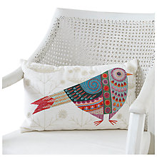 Buy Nancy Nicholson Cuckoo Embroidery Cushion Kit Online at johnlewis.com
