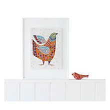 Buy Nancy Nicholson Bird Embroidery Cushion Kit Online at johnlewis.com