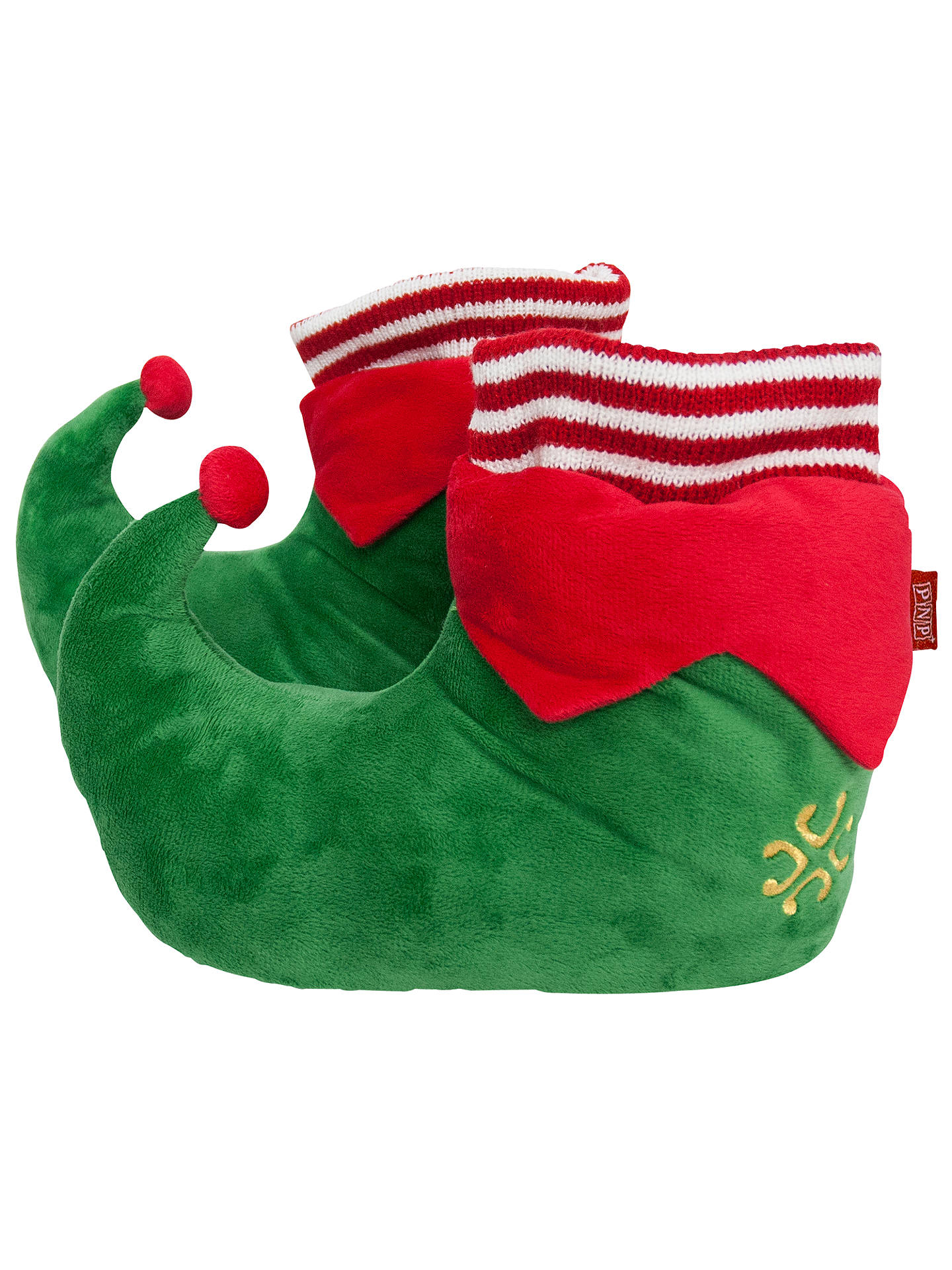 33eed30368b94 Portable North Pole Do-Good Elf Slippers at John Lewis   Partners