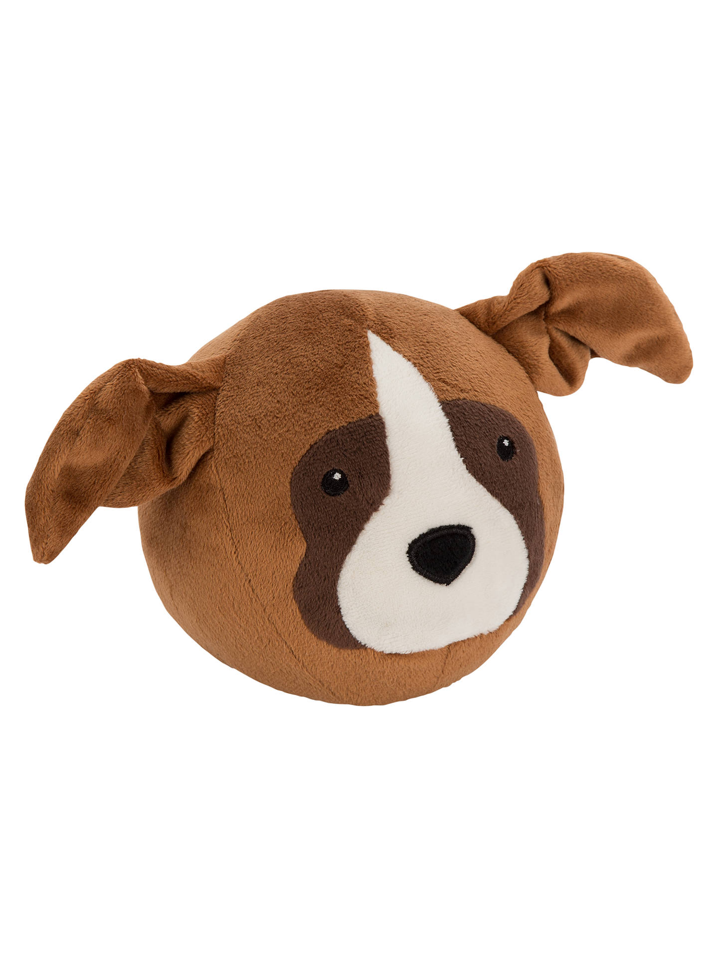 John Lewis Buster The Boxer Dog Bounce Plush Soft Toy Brown H12cm