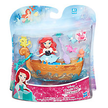 Buy Disney Princess Ariel's Floating Dreams Boat Playset Online at johnlewis.com