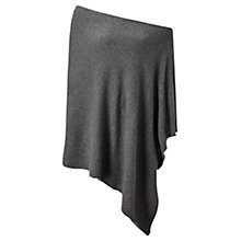 Buy Jigsaw Longer Length Knitted Rib Border Poncho Online at johnlewis.com