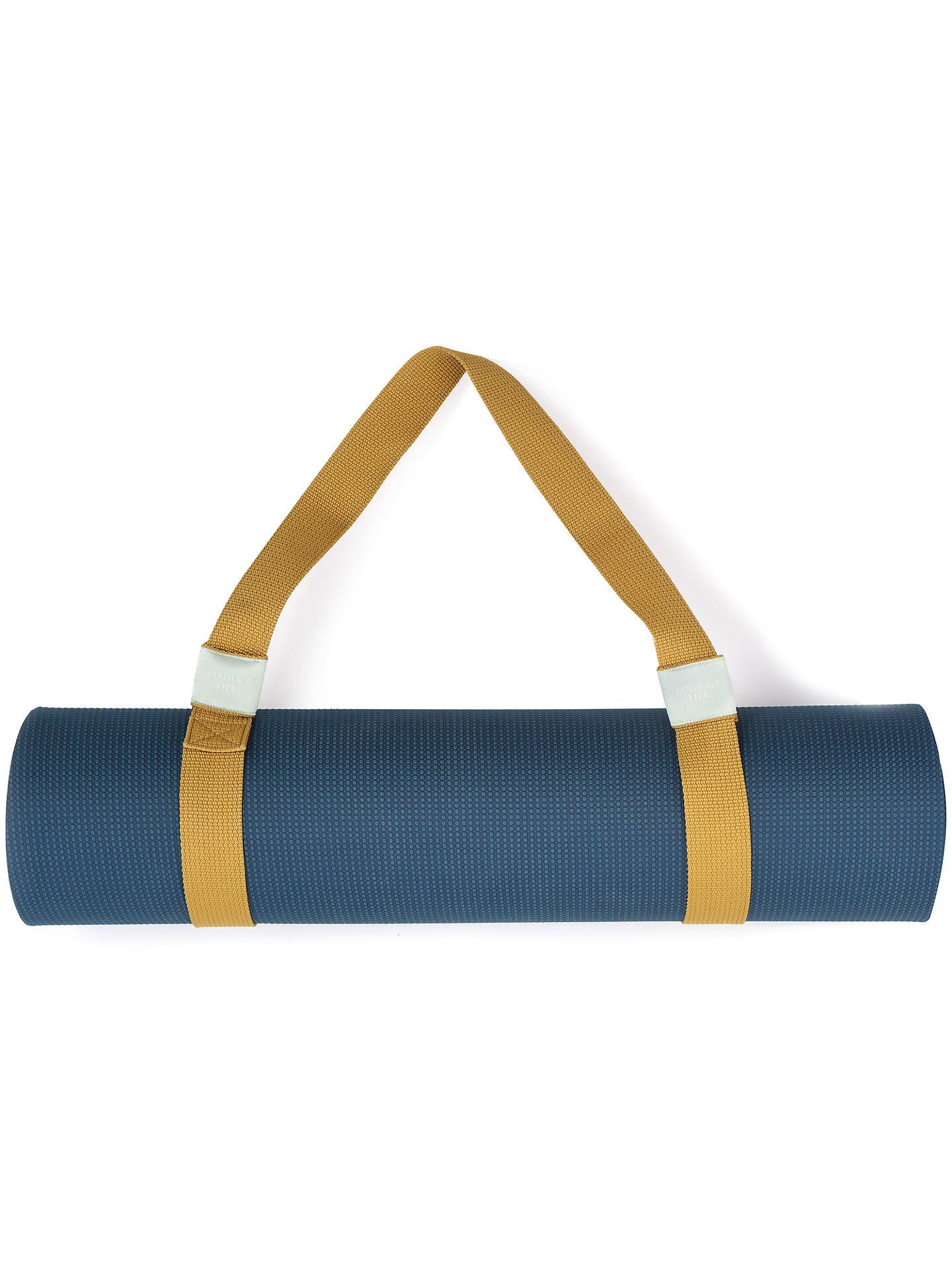 Manuka Life Yoga Mat Carrying Strap Gold At John Lewis