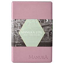 Buy Manuka Life Eco Star Yoga Block, Rock/Rose Online at johnlewis.com