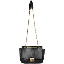 Buy Et DAY Birger et Mikkelsen Stitch Across Body Bag, Black Online at johnlewis.com