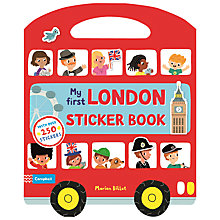 Buy My First London Sticker Book Online at johnlewis.com