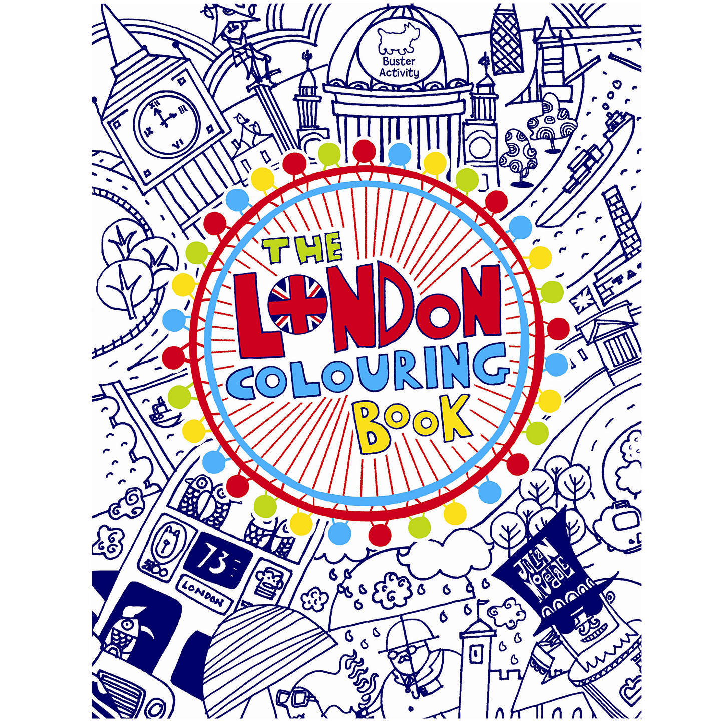 BuyThe London Colouring Book Online At Johnlewis