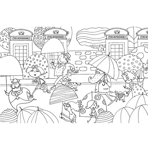 Buy The London Colouring Book Online At Johnlewis