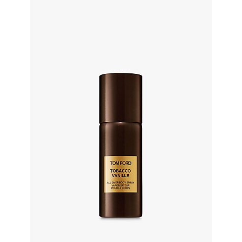 Buy TOM FORD Private Blend Tobacco Vanille Body Spray, 150ml Online at johnlewis.com