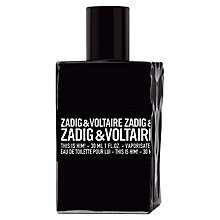 Buy Zadig & Voltaire This Is Him! Eau de Toilette Online at johnlewis.com