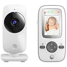 Buy Motorola MBP481 Video Baby Monitor with 2 Inch Display Online at johnlewis.com