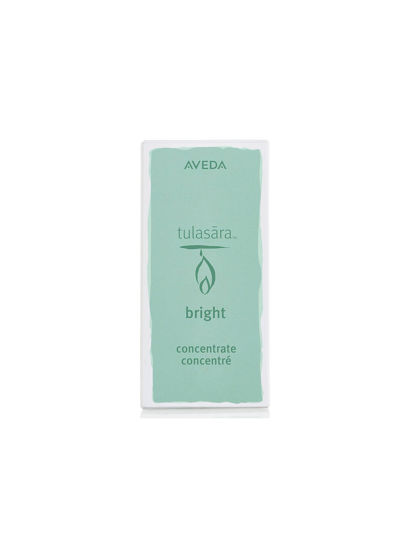 Buy Aveda Tulasara Bright Concentrate Facial Treatment, 30ml Online at johnlewis.com
