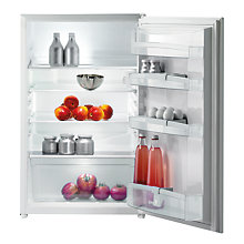 Buy Gorenje RI4091AW Integrated Undercounter Fridge, A+ Energy Rating, 60cm Wide Online at johnlewis.com