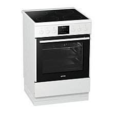 Buy Gorenje EC637E14WX Electric Cooker, White Online at johnlewis.com
