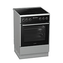 Buy Gorenje EI647A21X2 Induction Hob Electric Cooker, Stainless Steel Online at johnlewis.com