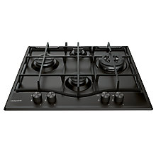 Buy Hotpoint PCN642 Integrated Hob, Black Online at johnlewis.com