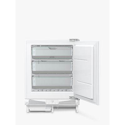 Gorenje FIU6F091AWUK Integrated Freezer, A+ Energy Rating, 60cm Wide