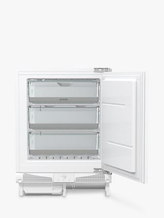 Gorenje FIU6F091AWUK Integrated Freezer, A+ Energy Rating, 60cm Wide