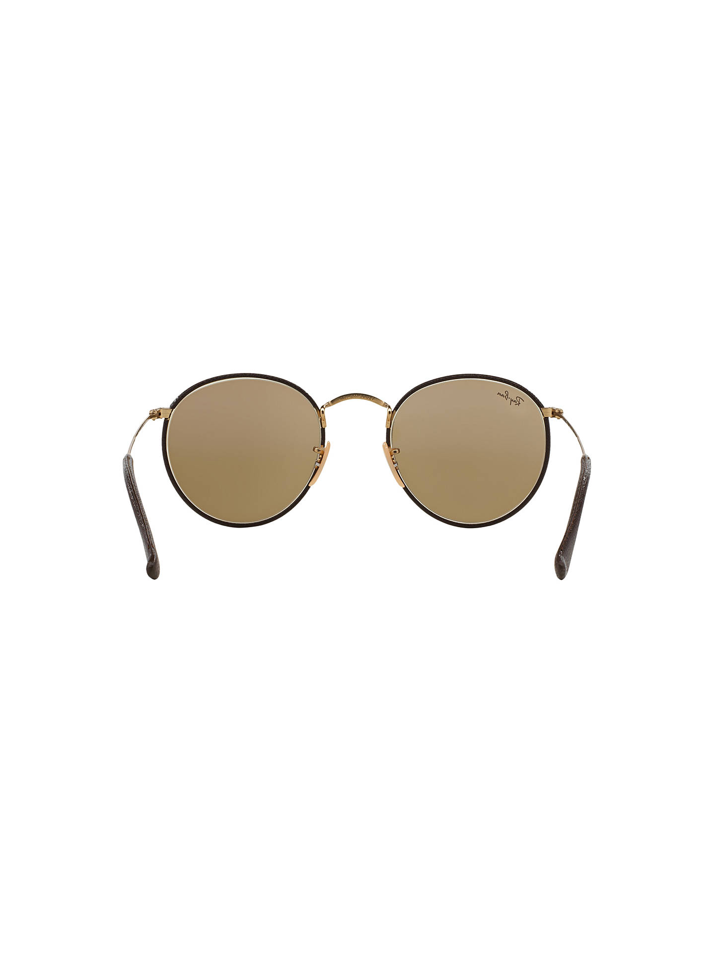 netherlands buyray ban rb3475q round craft sunglasses gold brown online at  johnlewis 5dbfd 6a90f aee76a0062