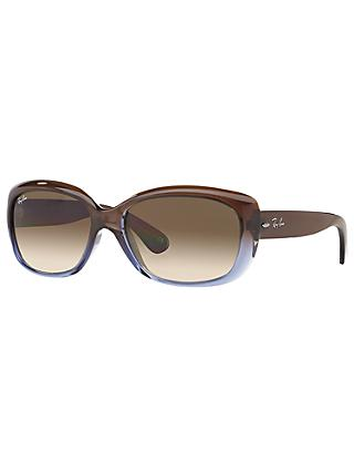 Ray-Ban RB4101 Women's Jackie Ohh Rectangular Sunglasses