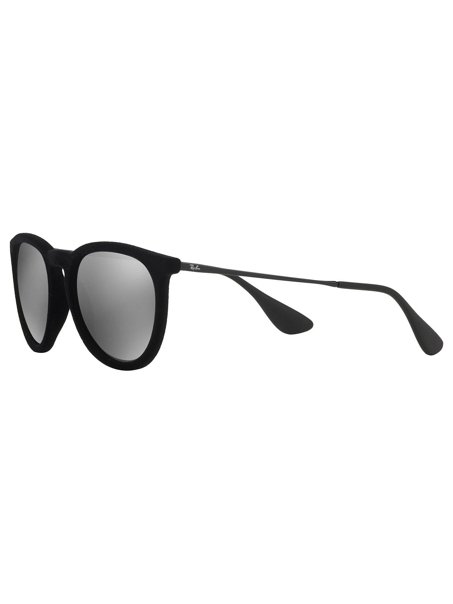 BuyRay-Ban RB4171 Erika Sunglasses, Velvet Black Mirror Silver Online at  johnlewis. a8018f3a22