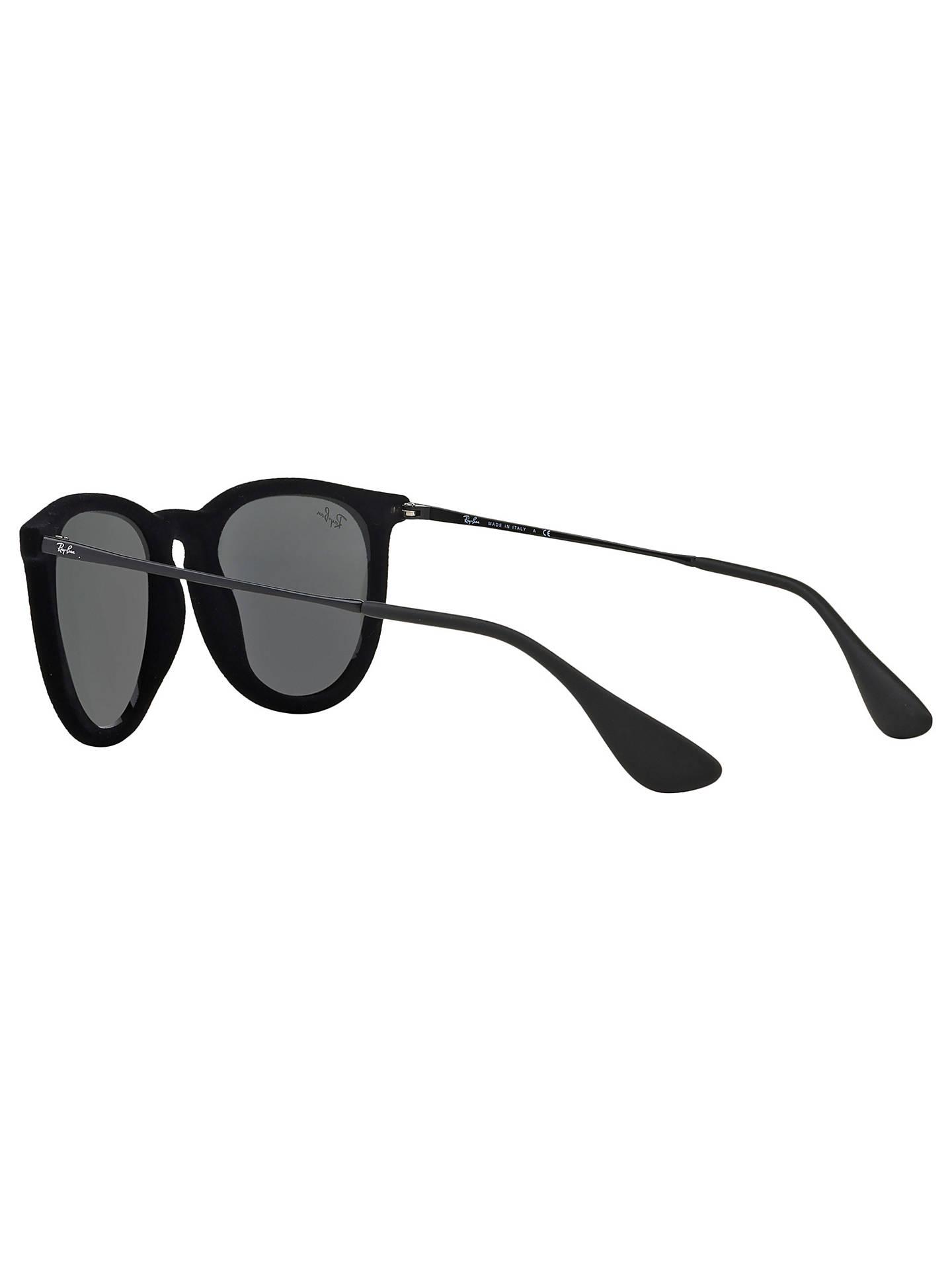 Ray Ban Rb4171 Erika Sunglasses Velvet Black Mirror