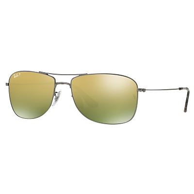 Ray-Ban RB3543 Polarised Aviator Sunglasses