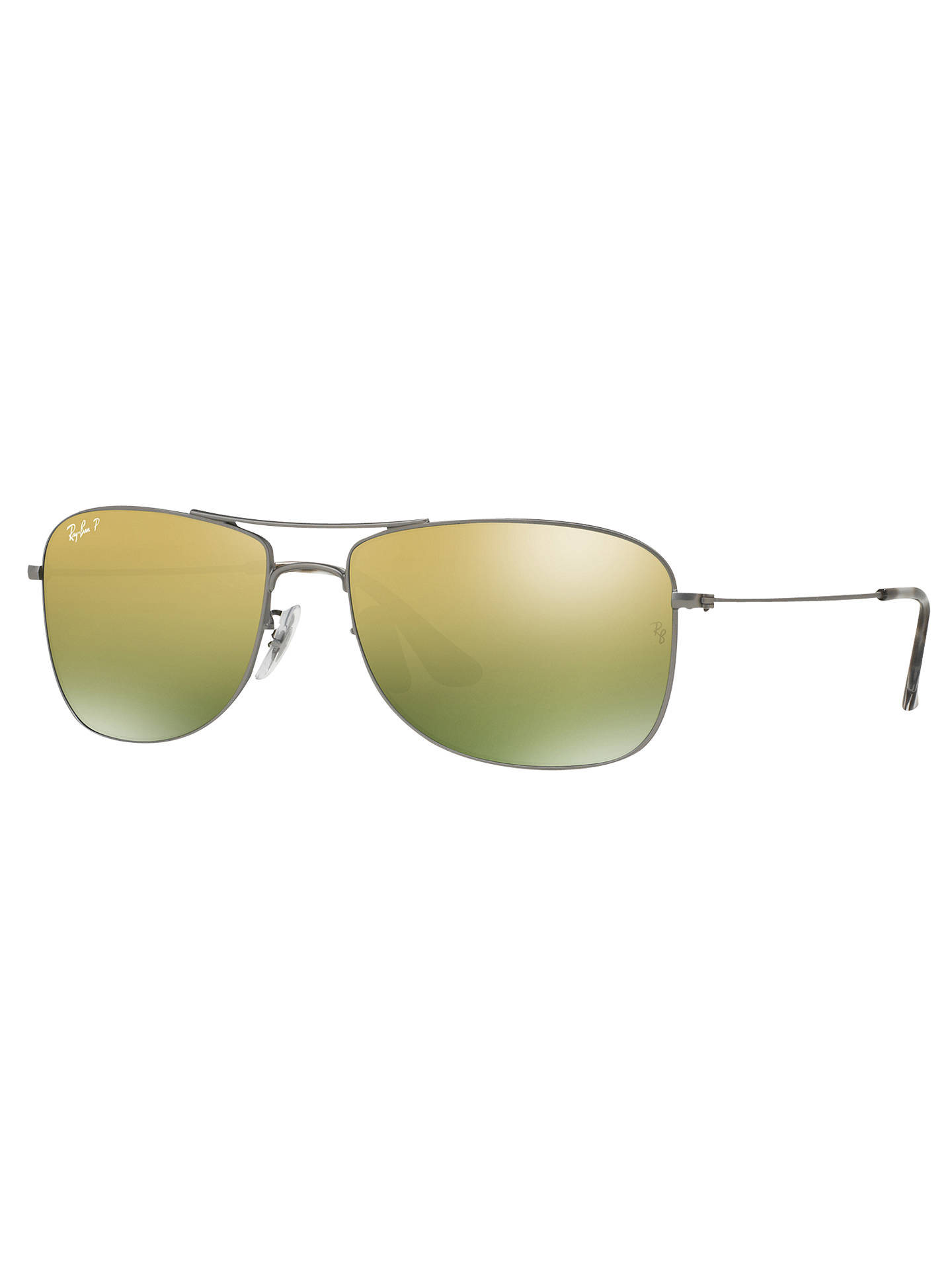 a1246df5a4b Ray-Ban RB3543 Polarised Aviator Sunglasses at John Lewis   Partners