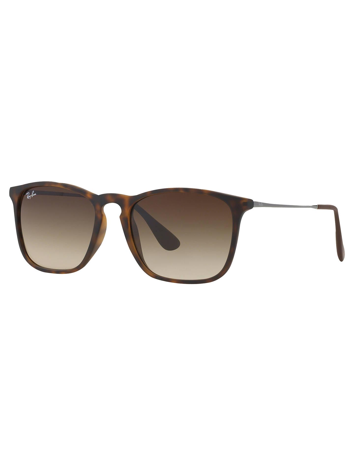 1b60ba86fdbb6 Ray-Ban RB4187 Chris Square Sunglasses at John Lewis   Partners