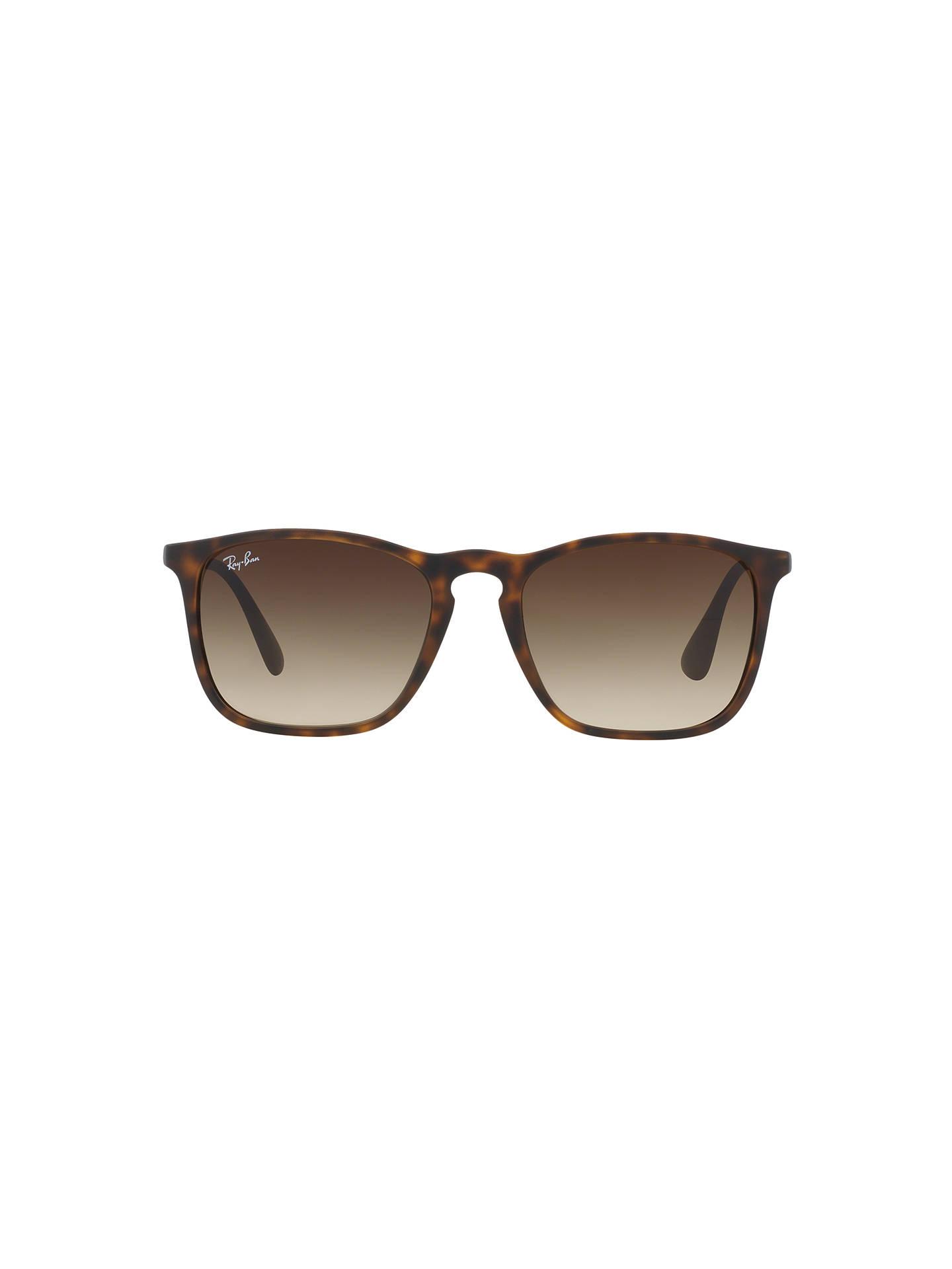d27587db93e Ray-Ban RB4187 Chris Square Sunglasses at John Lewis   Partners