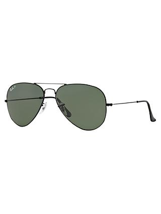 2337a606fd7 Ray-Ban RB3025 Polarised Aviator Sunglasses