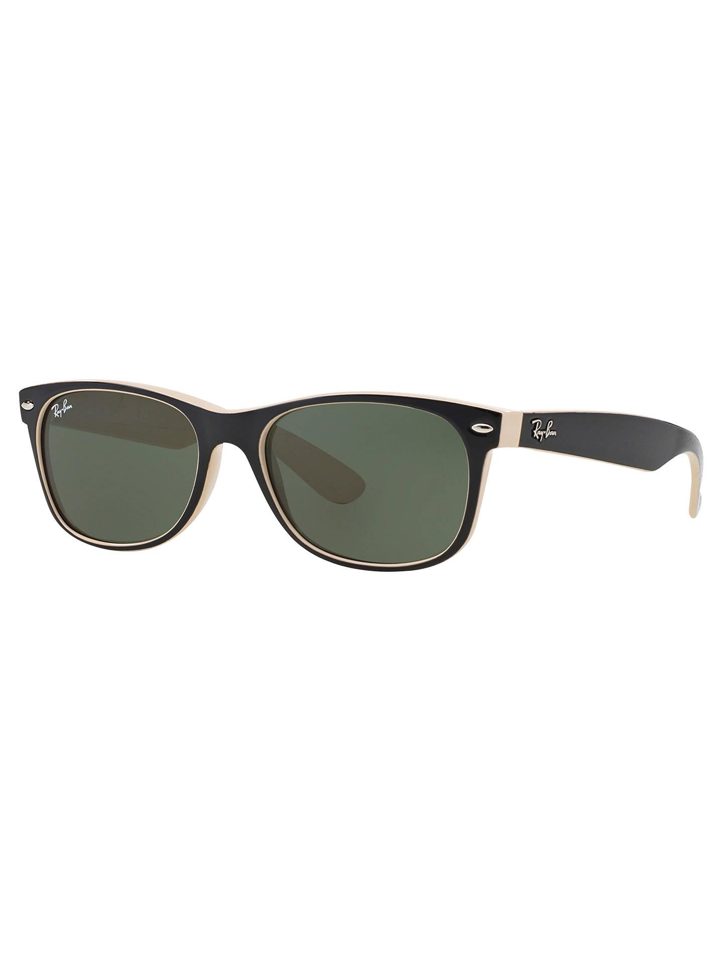 107b88d8af768 Ray-Ban RB2132 New Wayfarer Colour Mix Sunglasses at John Lewis ...