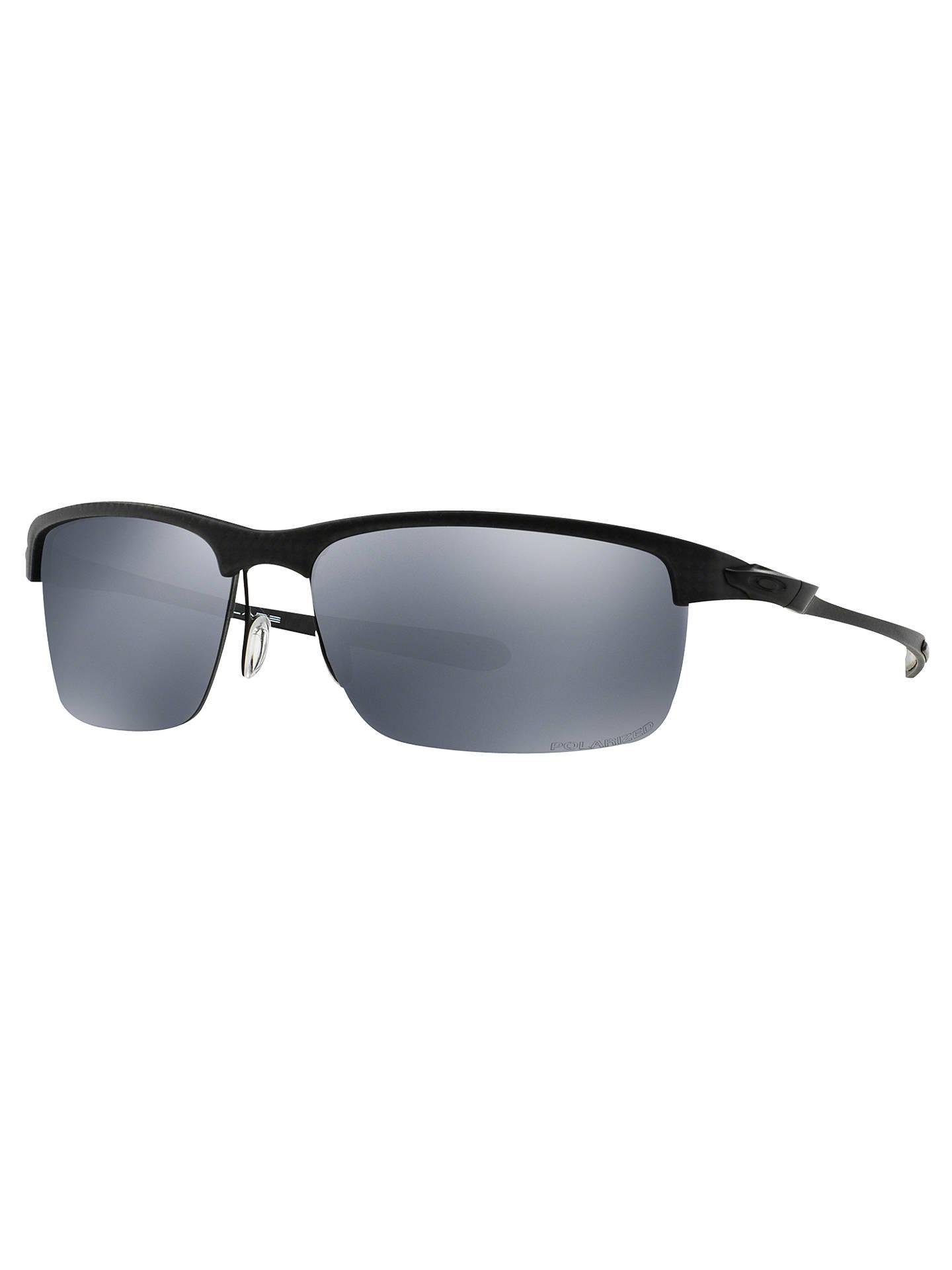 SunglassesBlackmirror Silver Oakley Carbon Oo9174 Polarised Blade QhdrtsxC