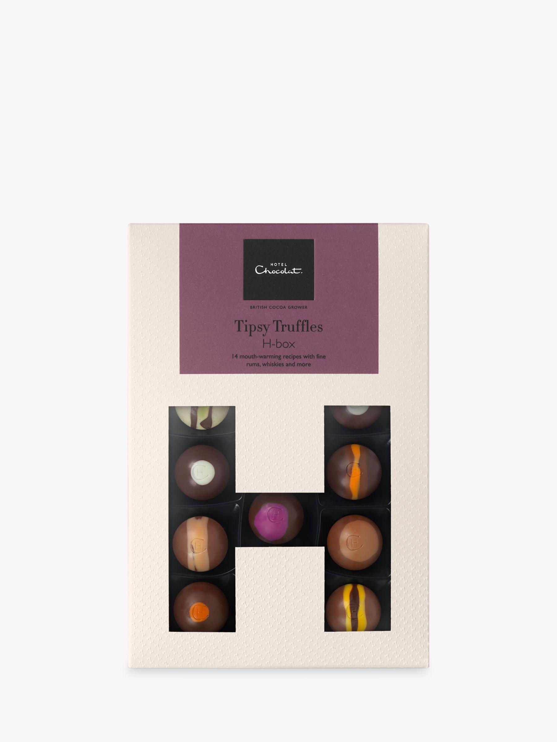 Hotel Chocolat Hotel Chocolat Tipsy Truffles Hbox, Box of 14, 150g