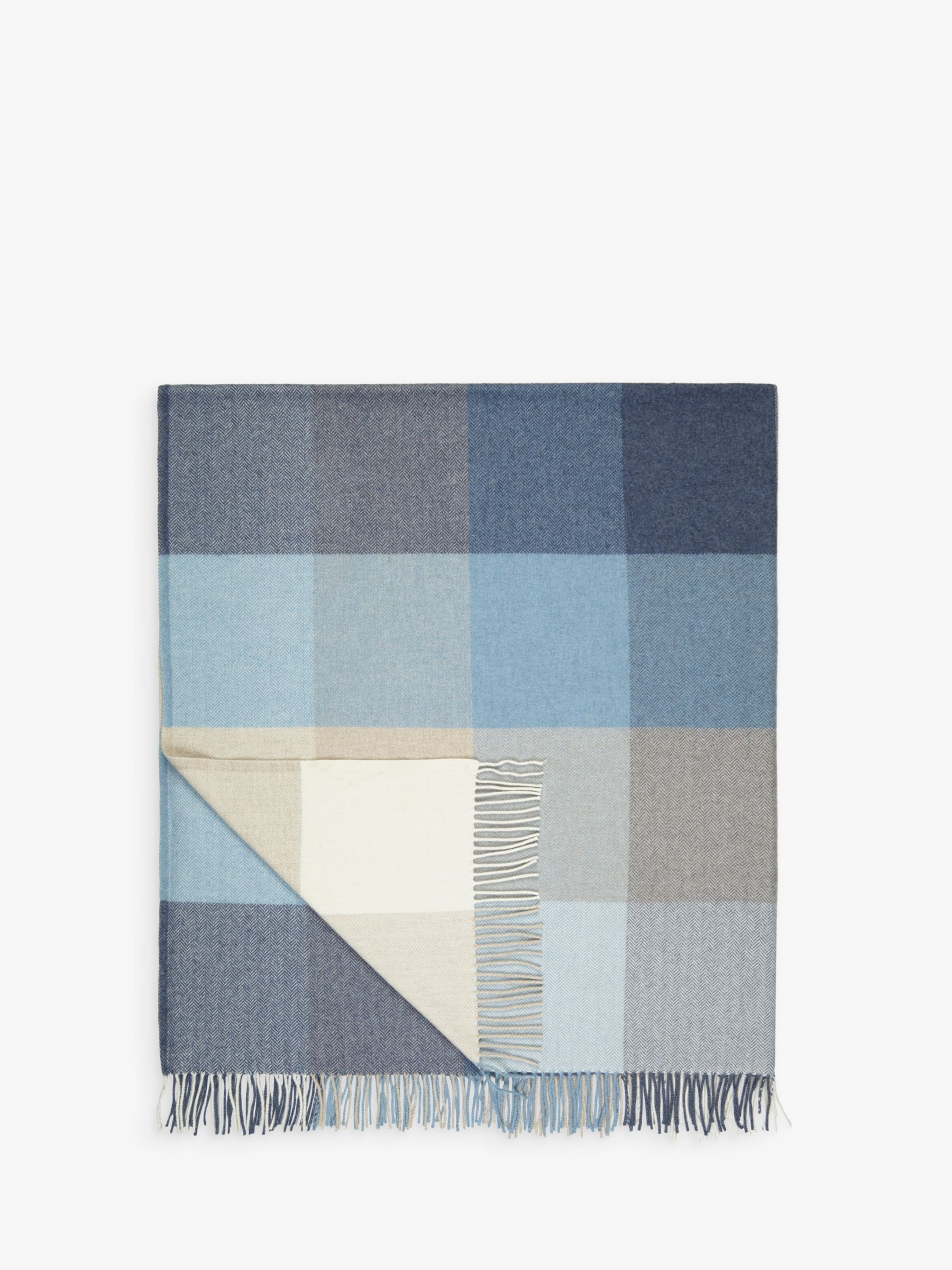 Buy Avoca Capri Wool / Cashmere Blend Throw Online at johnlewis.com