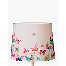 Buy little home at John Lewis Butterflies Lampshade Online at johnlewis.com
