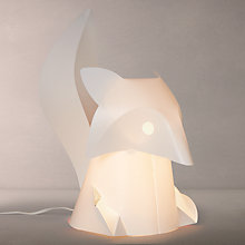 Buy little home at John Lewis Fox Table Lamp Online at johnlewis.com