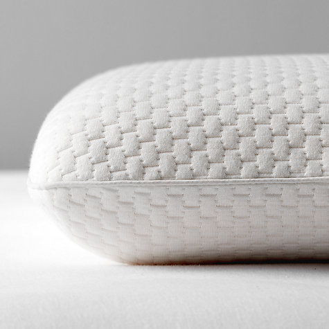 Buy John Lewis Specialist Synthetic Memory Foam Standard Support Pillow, Medium/Firm Online at johnlewis.com