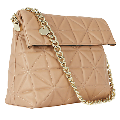 Karen Millen Quilted Chain Regent Handbag