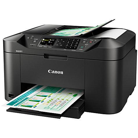 canon printer fax machine