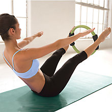 Buy Gaiam Pilates Toning Ring, Black/Green Online at johnlewis.com