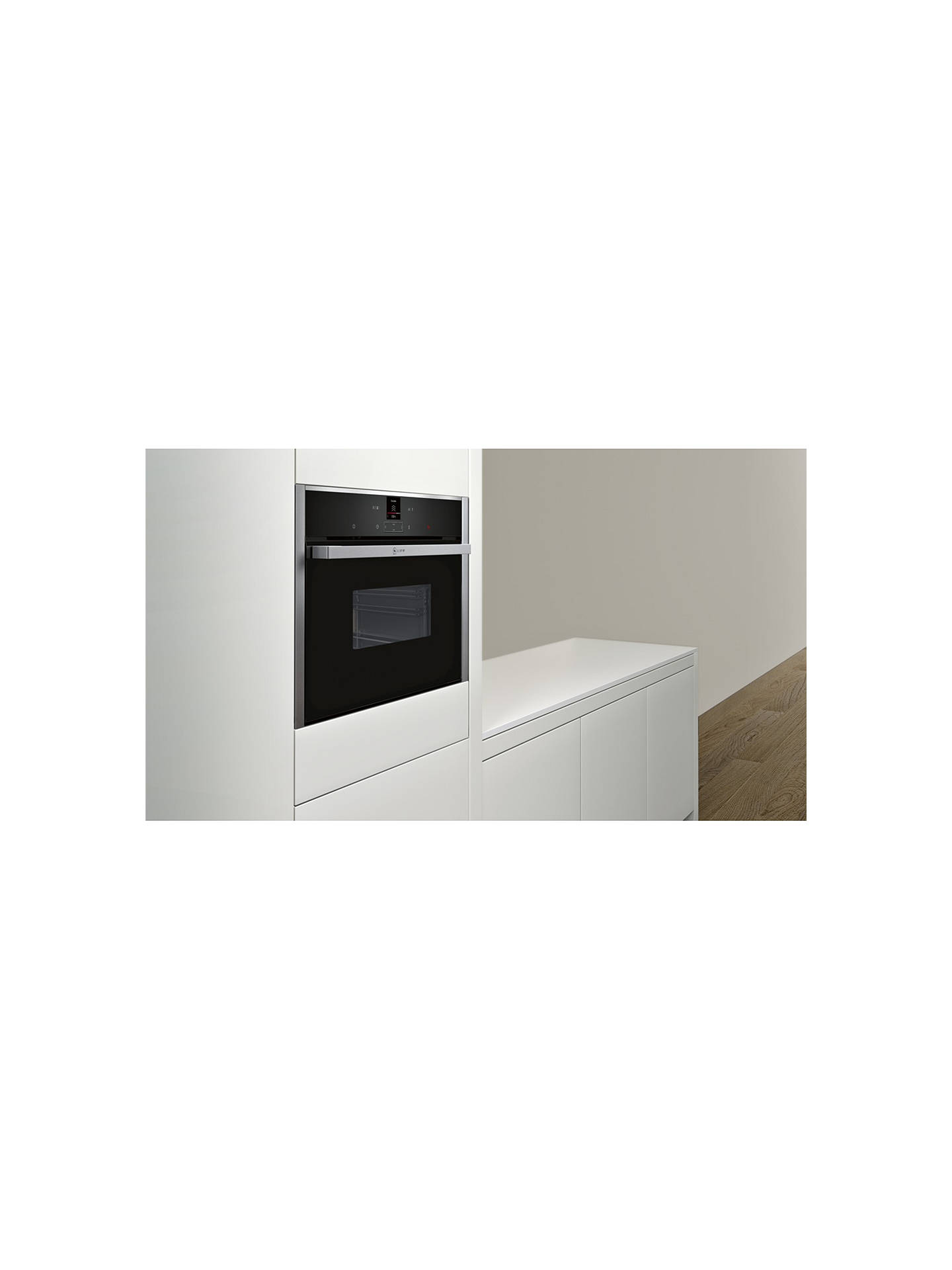 Buy Neff C17DR02N0B Compact Built-In Single Steam Oven Online at johnlewis.com