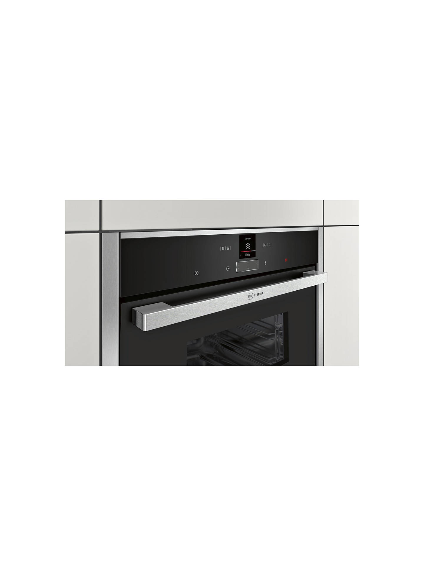 BuyNeff C17DR02N0B Compact Built-In Single Steam Oven Online at johnlewis.com