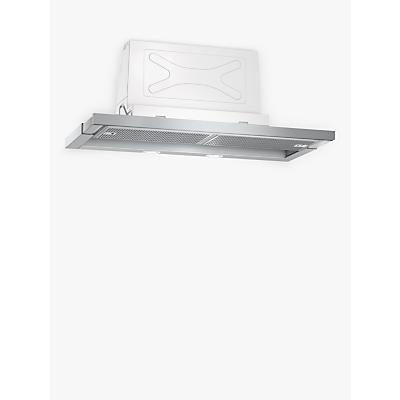 Image of Neff D46ML54N0B 60cm Telescopic Cooker Hood, B Energy Rating, Stainless Steel