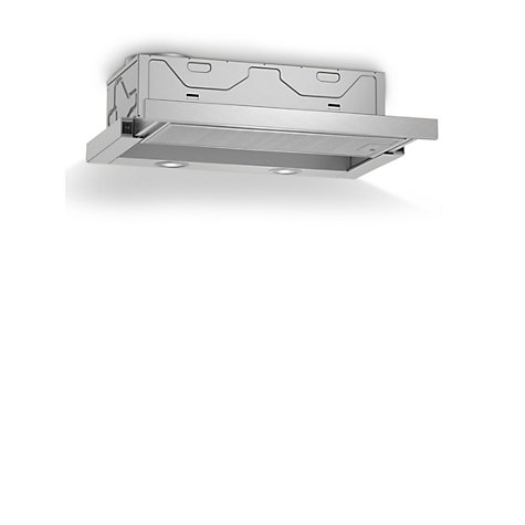 Buy Neff D46BR22N0B Integrated Cooker Hood, Silver Online at johnlewis.com